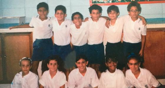 Alumnos del Colegio Hebreo Unión años 2000