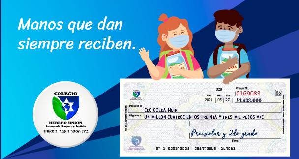 Proyecto_Tzedaká_-_donacion_CDC_Golda Meir.